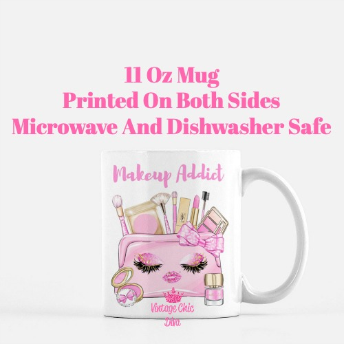 Pinkaholic Makeup Bag Set7 Coffee Mug-