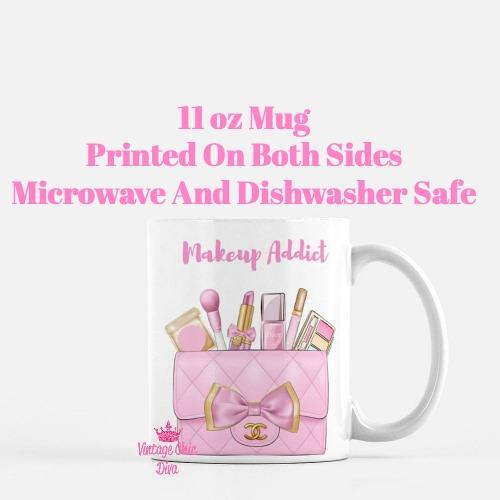 Pink Chanel Bag Makeup14 Coffee Mug-