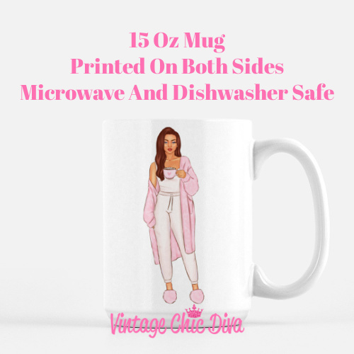 Pink Coffee Girls2 Coffee Mug-