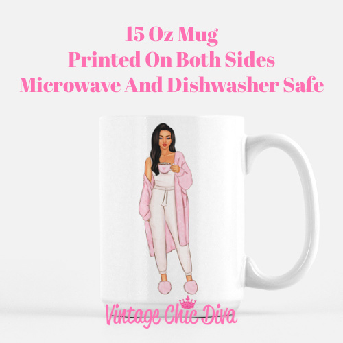 Pink Coffee Girls3 Coffee Mug-