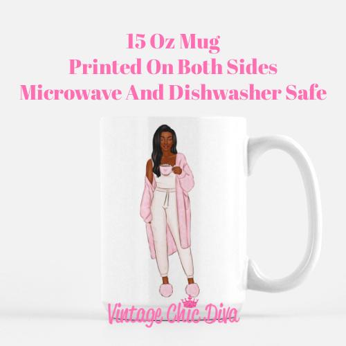 Pink Coffee Girls4 Coffee Mug-