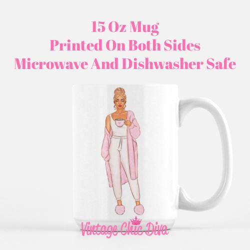 Pink Coffee Girls5 Coffee Mug-