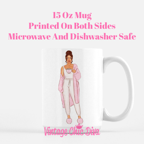 Pink Coffee Girls6 Coffee Mug-
