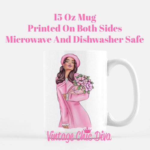 Pink Fall Girls2 Coffee Mug-