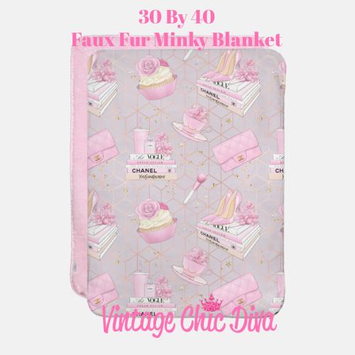 Pink Glam10 Blanket-