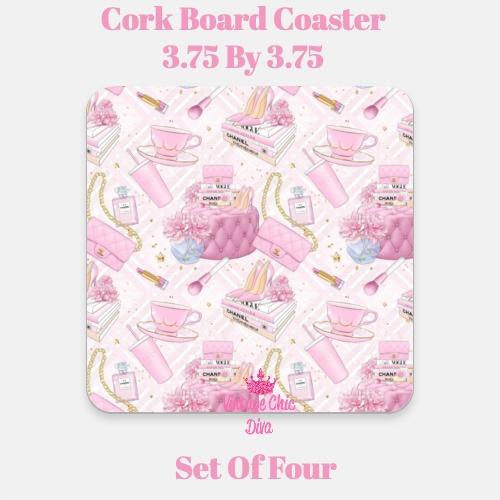 Pink Glam11 Coaster-