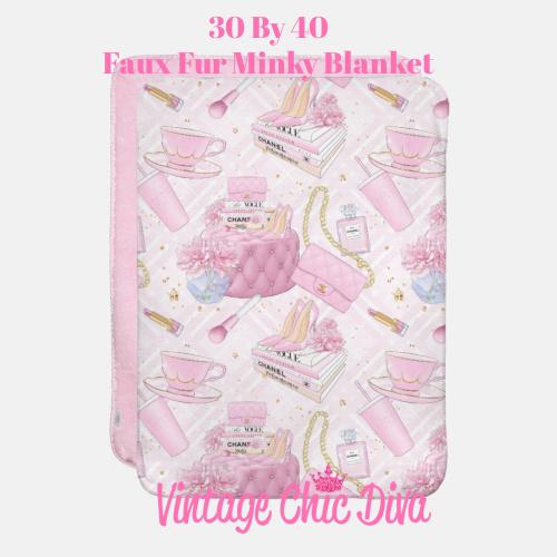 Pink Glam12 Blanket-