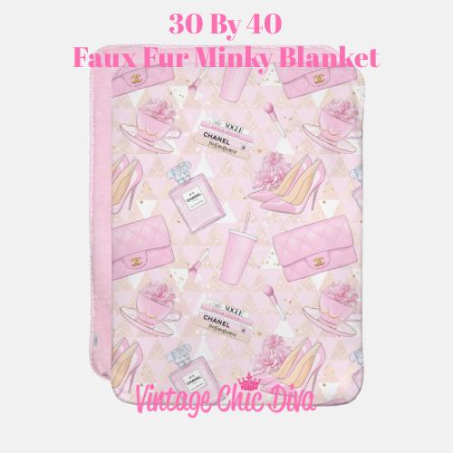 Pink Glam13 Blanket-