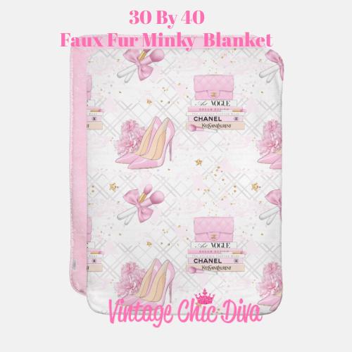 Pink Glam15 Blanket-