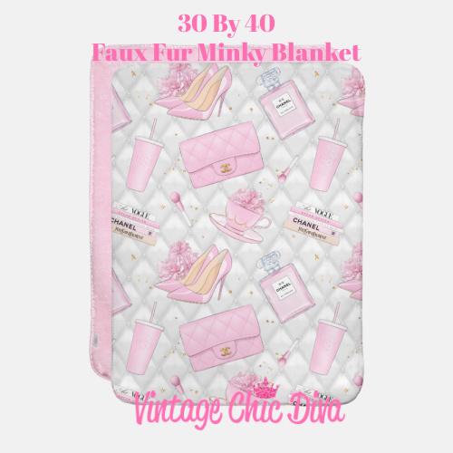 Pink Glam16 Blanket-