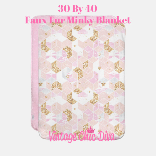 Pink Glam1 Blanket-