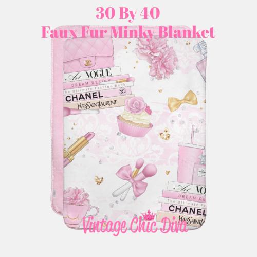 Pink Glam2 Blanket-