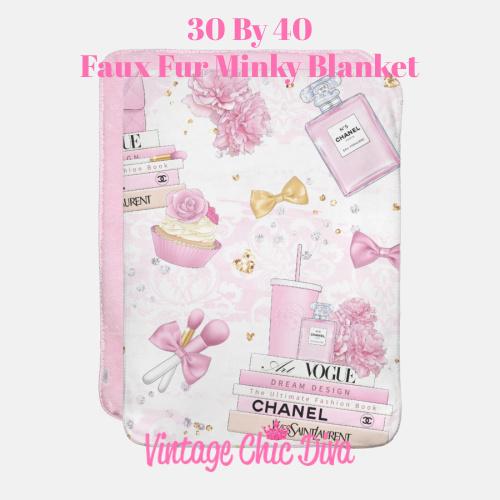 Pink Glam3 Blanket-