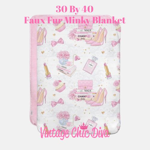 Pink Glam5 Blanket-