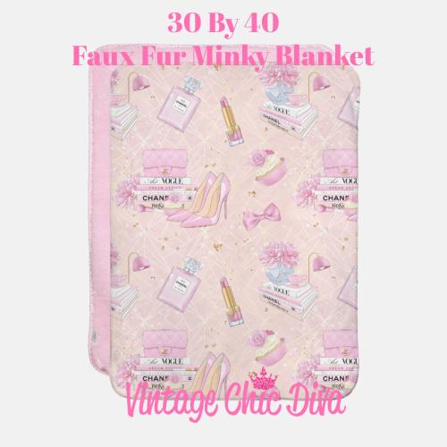 Pink Glam6 Blanket-