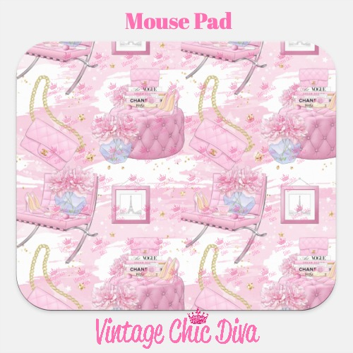 Pink Glam6 Mouse Pad-