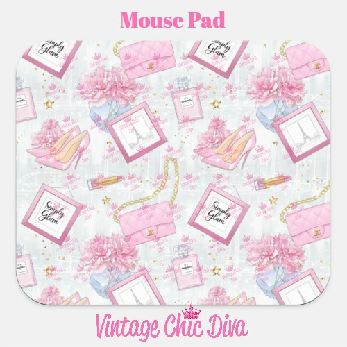 Pink Glam7 Mouse Pad-
