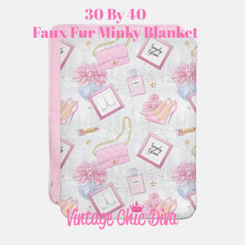 Pink Glam8 Blanket-