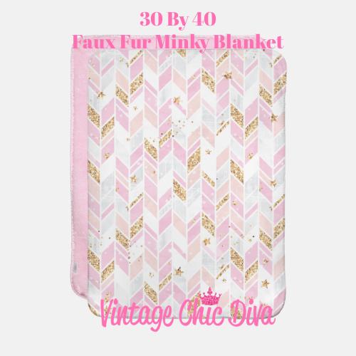Pink Glam9 Blanket-