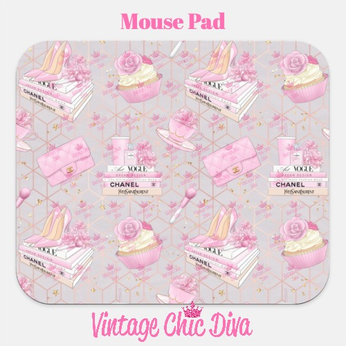Pink Glam9 Mouse Pad-
