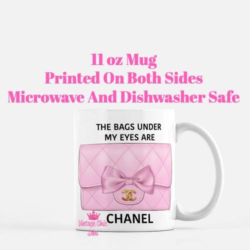 Pink Glam Chanel Bag7 Coffee Mug-