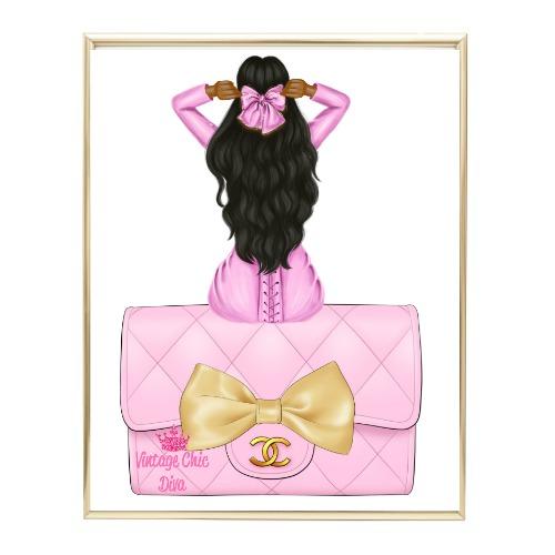 Pink Glam Fashion Girl Set 25 Wh Bg-