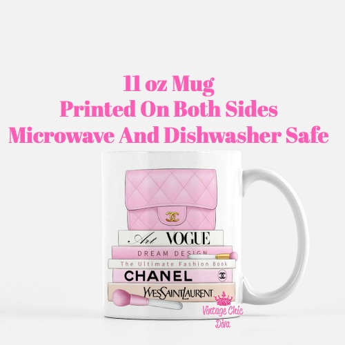 Pink Glam Set2 Coffee Mug-