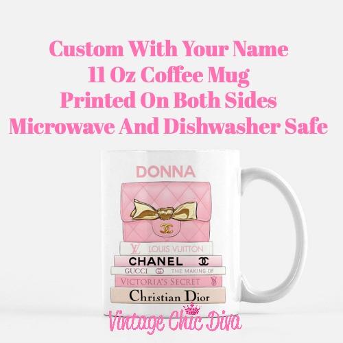 Pink Love Custom Set12 Coffee Mug-