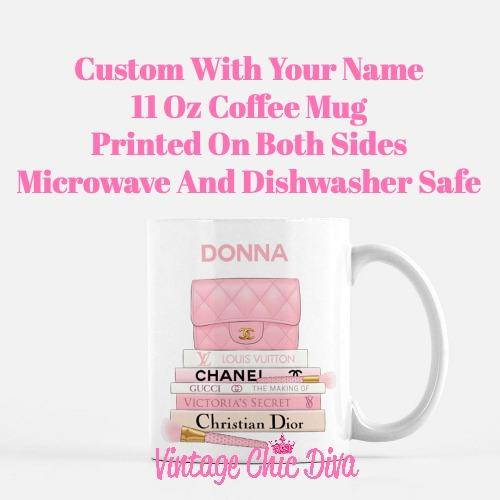 Pink Love Custom Set1 Coffee Mug-