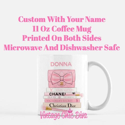 Pink Love Custom Set4 Coffee Mug-