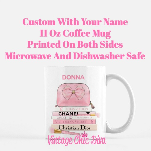Pink Love Custom Set8 Coffee Mug-