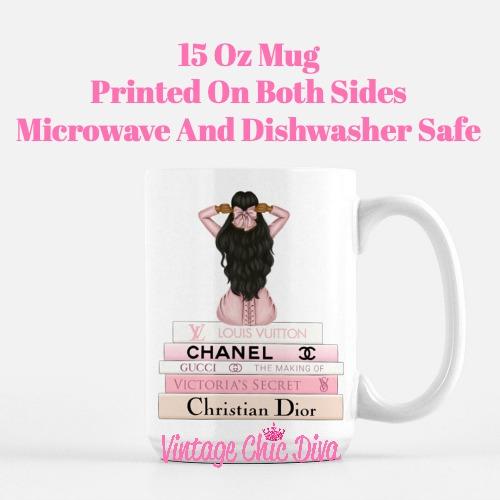 Pink Love Fashion Girl10 Coffee Mug-