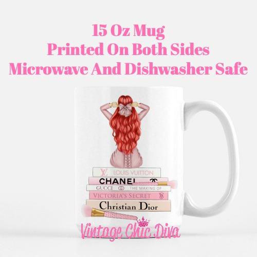 Pink Love Fashion Girl3 Coffee Mug-