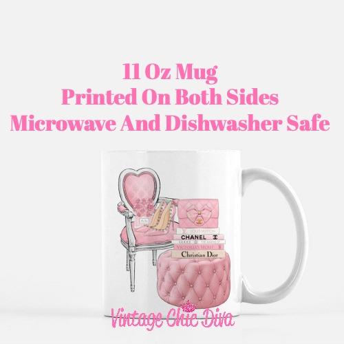 Pink Love Set77 Coffee Mug-