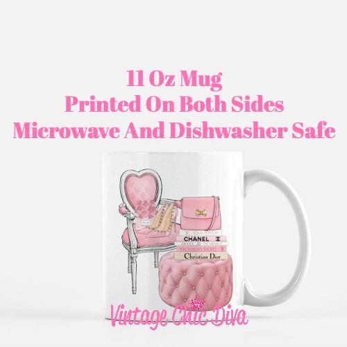 Pink Love Set81 Coffee Mug-