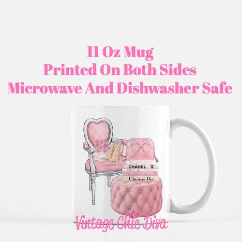 Pink Love Set83 Coffee Mug-