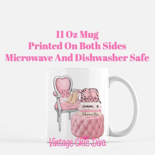Pink Love Set84 Coffee Mug-