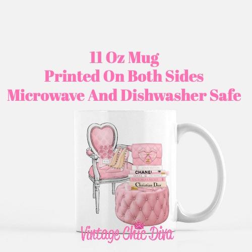 Pink Love Set85 Coffee Mug-