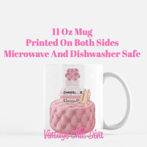 Pink Love Set8 Coffee Mug-