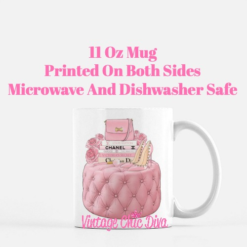 Pink Love Set9 Coffee Mug-