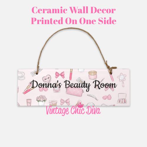 Pink Makeup Beauty Room Sign1-