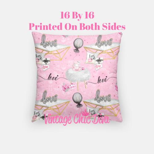 Pink Sweet Fashion10 Pillow Case-