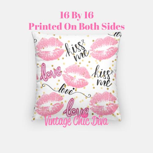 Pink Sweet Fashion11 Pillow Case-