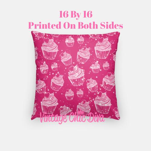 Pink Sweet Fashion12 Pillow Case-