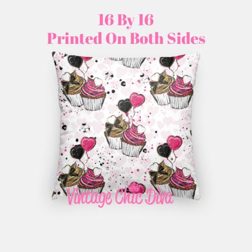Pink Sweet Fashion13 Pillow Case-