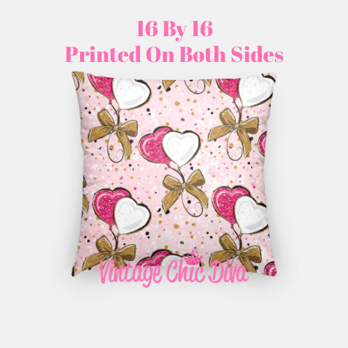 Pink Sweet Fashion14 Pillow Case-