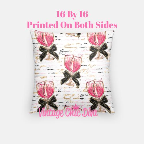 Pink Sweet Fashion15 Pillow Case-
