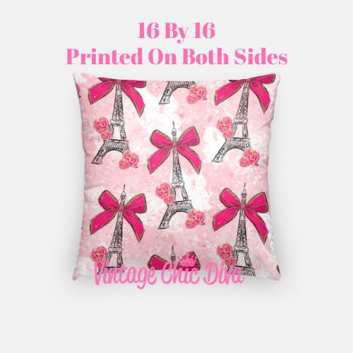 Pink Sweet Fashion16 Pillow Case-