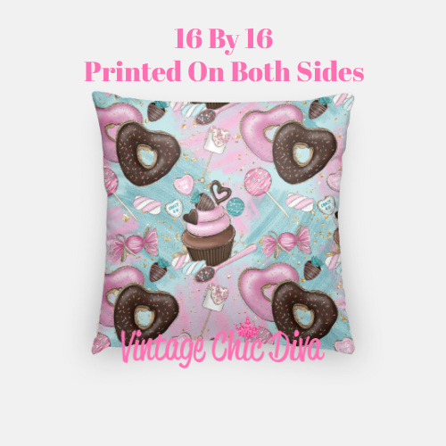 Pink Sweet Fashion19 Pillow Case-