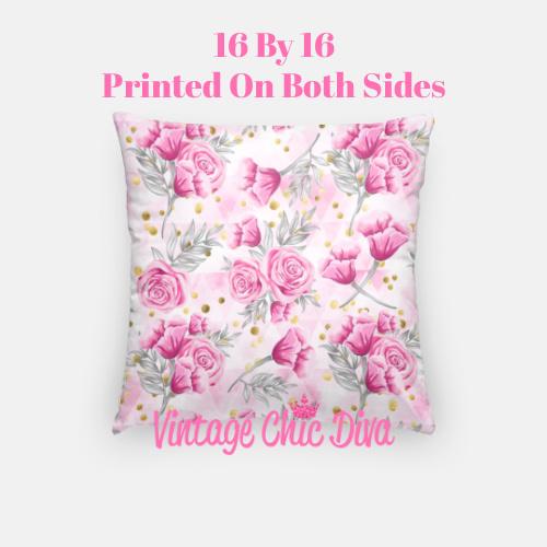 Pink Sweet Fashion1 Pillow Case-